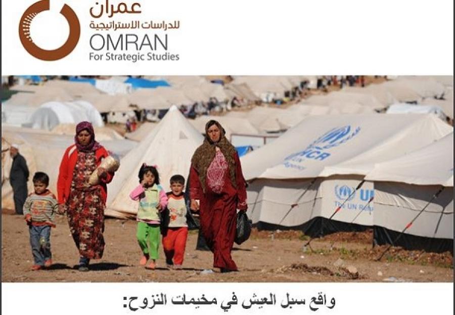 واقع سبل العيش في مخيمات النزوح: دراسة حالة في مناطق الشمال السوري ...محمد العبد الله